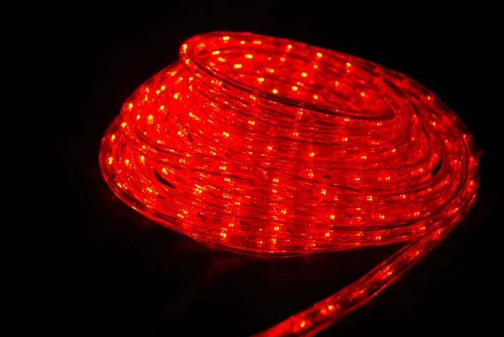 ME5 rope light -red